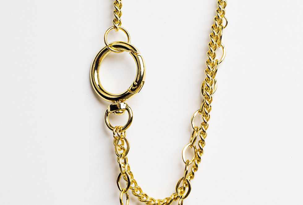 Chain Me Down Golden Necklace