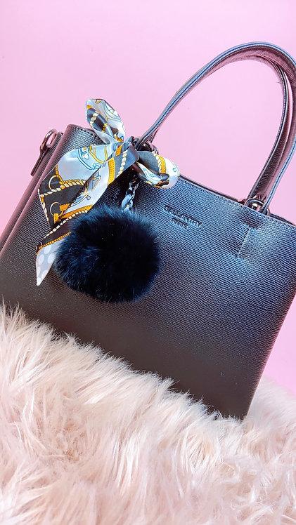 Gallantry Black Handbag