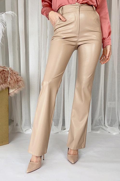 Enid Beige Trousers