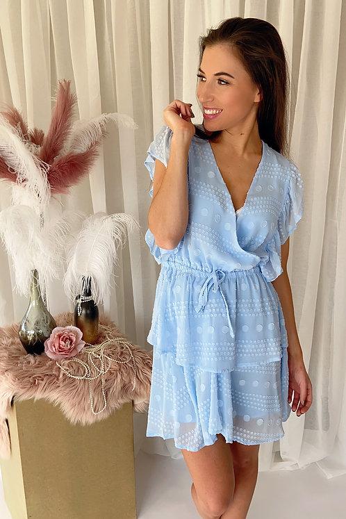 Lena Baby Blue Dress