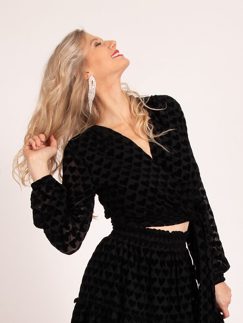 Cupido Queen Hearted Blouse