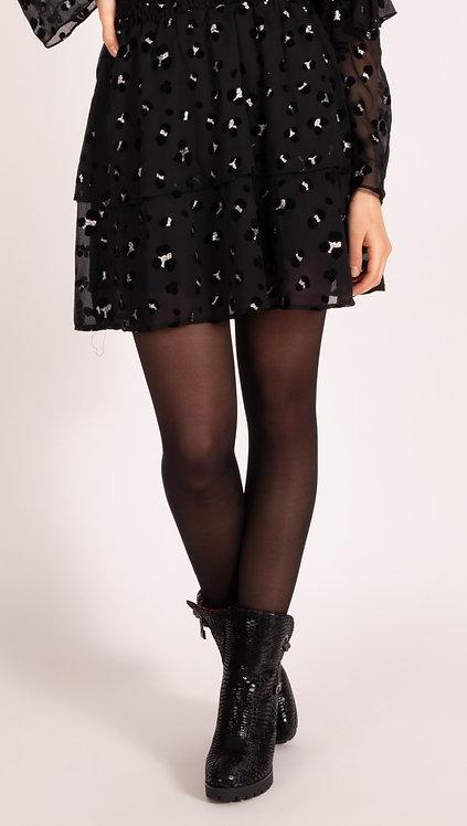 Helena Leopard Skirt