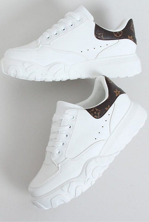 Gianna White Sneakers