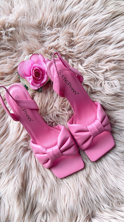 Lydia Pink Heels