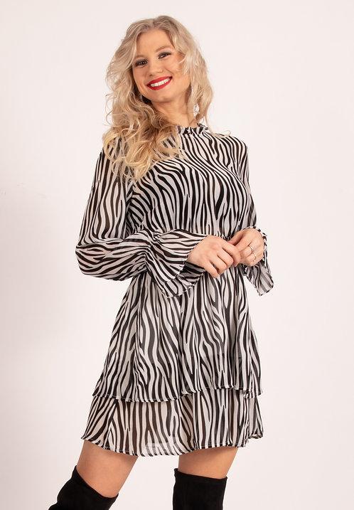 Celesta Zebra Dress