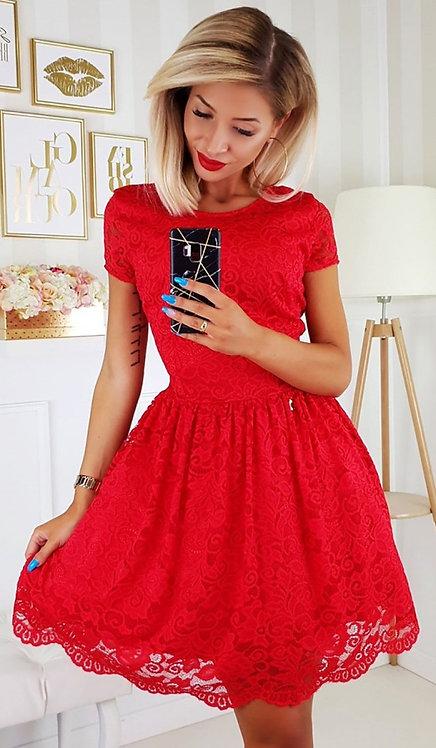 Francesca Romantic Red Dress