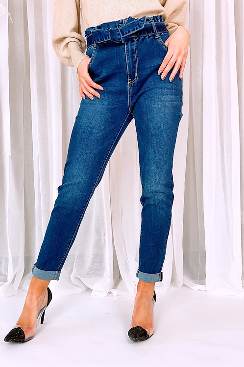 Ensley Cute Bow Jeans