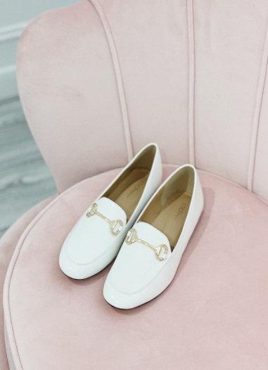 Miranda White Loafers
