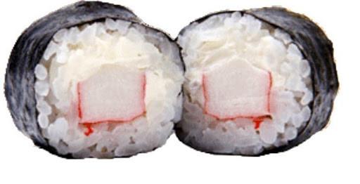 Crab and cream cheese