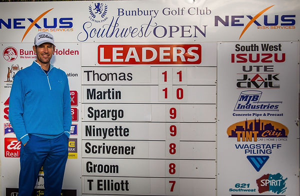 Grant Thomas - South West Open Leader