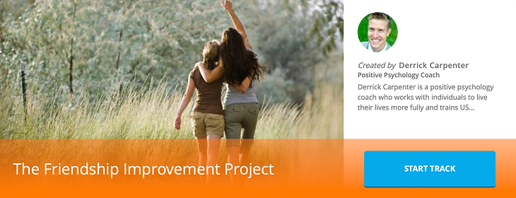 The Friendship Improvement Project
