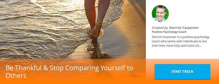 Be Grateful & Stop Comparing Yourself to Others