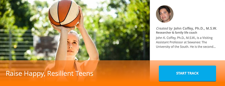 Raise Happy, Resilient Teens