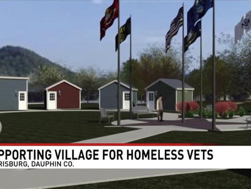 Missouri vet helps build Tiny Homes for homeless vets in Harrisburg