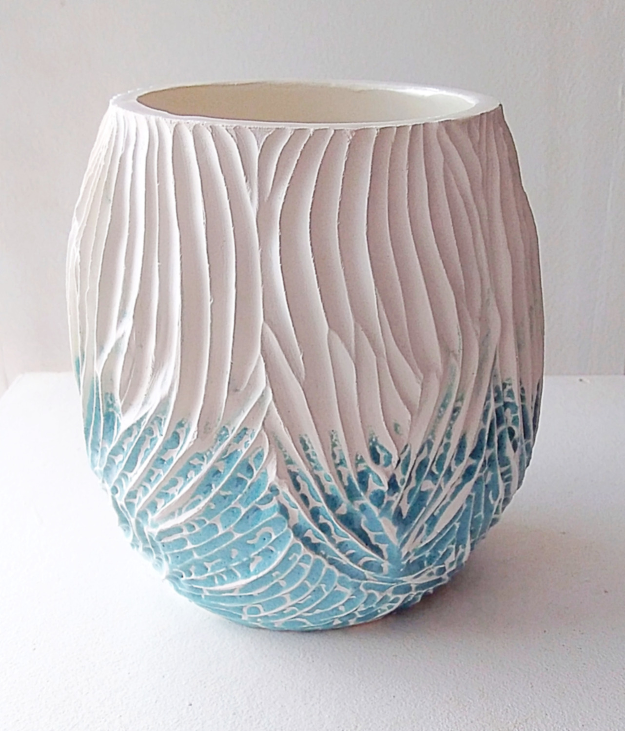 Carved tumbler by Vera