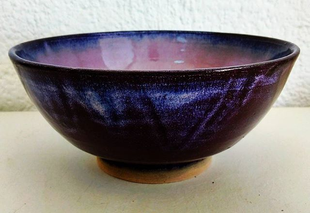 Thrown bowl by Suzie
