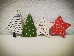 Christmas decorations by Vicky