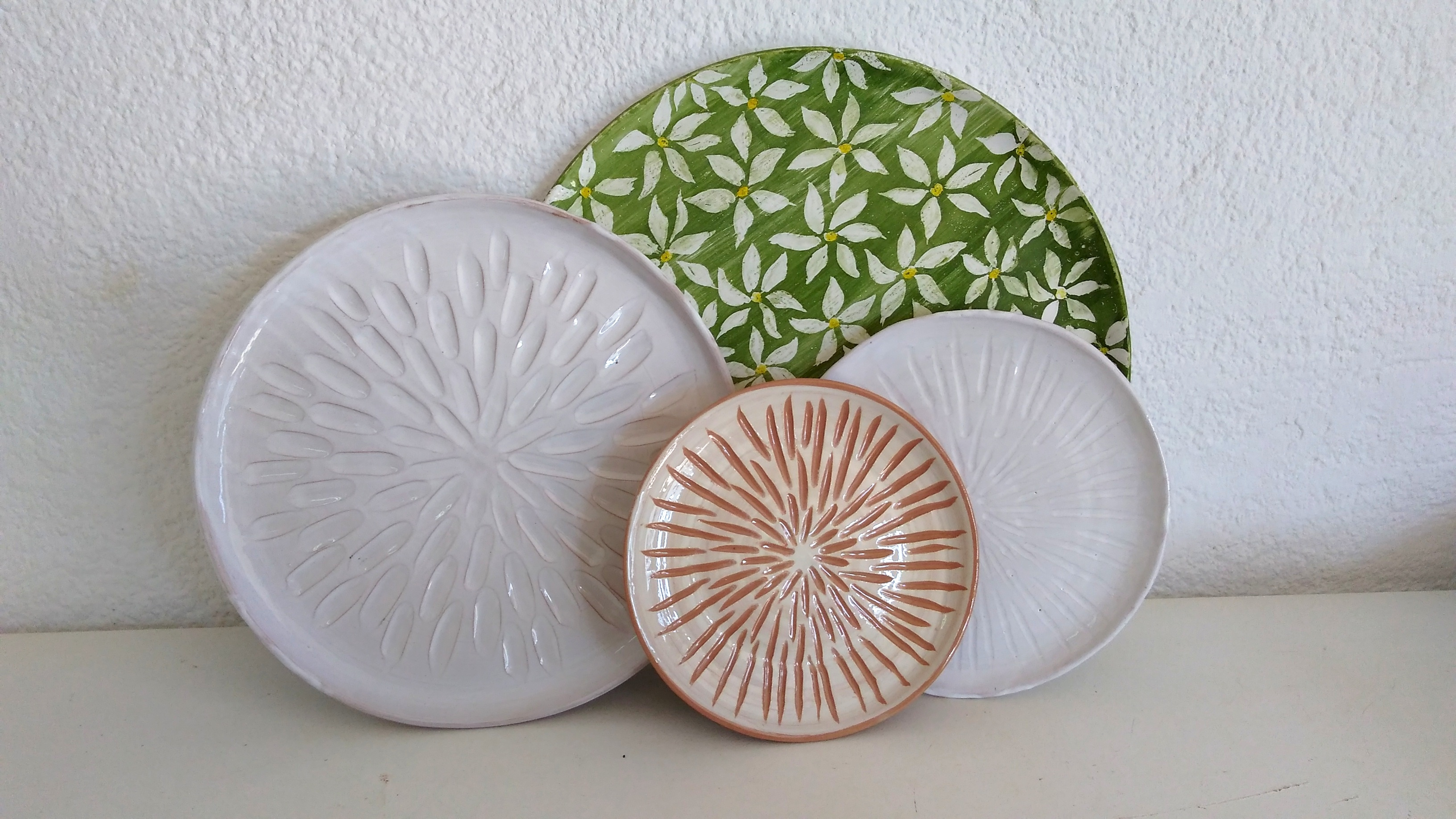 A selection of plates