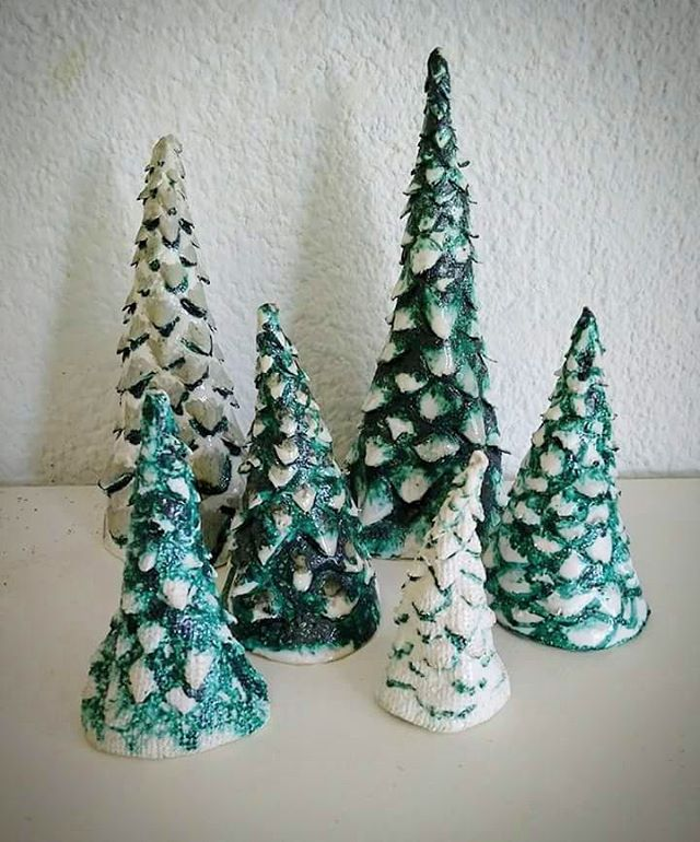 Christmas trees by Vera
