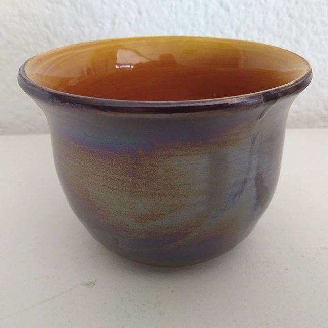 Lustre glazed tumbler by Karen