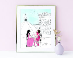 Chic on Paper Art Prints and Stationery