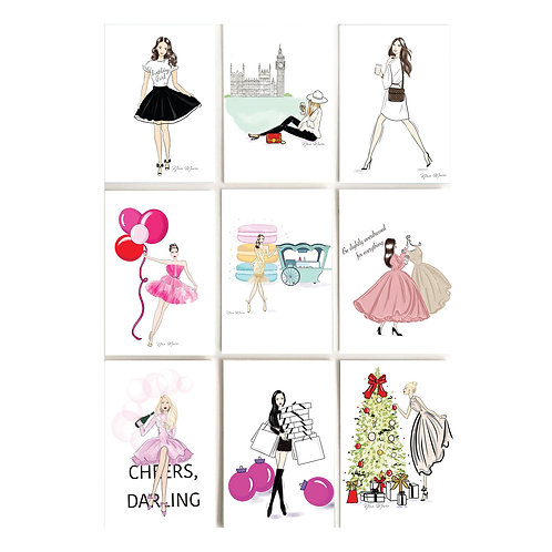 Boxed Card Set (9 assorted cards)