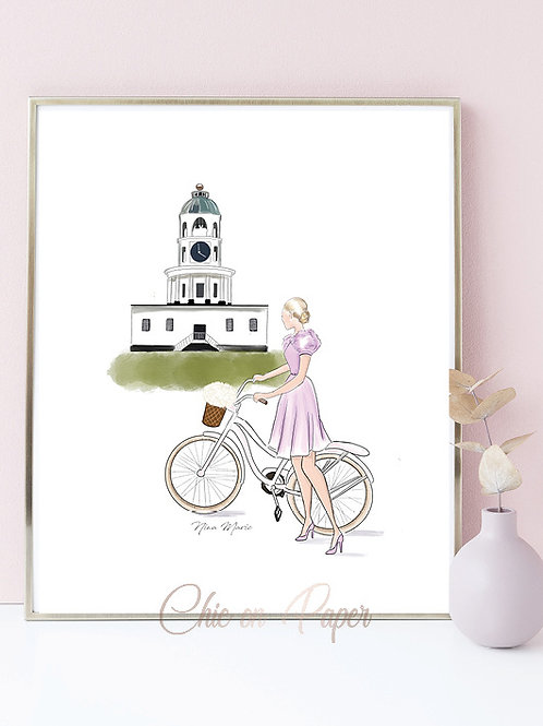Citadel Fashionista Art Print SALE