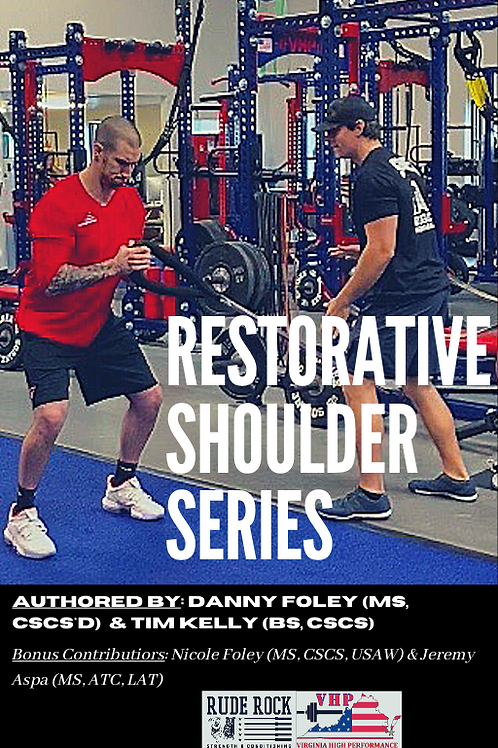 Restorative Shoulder Series eBook