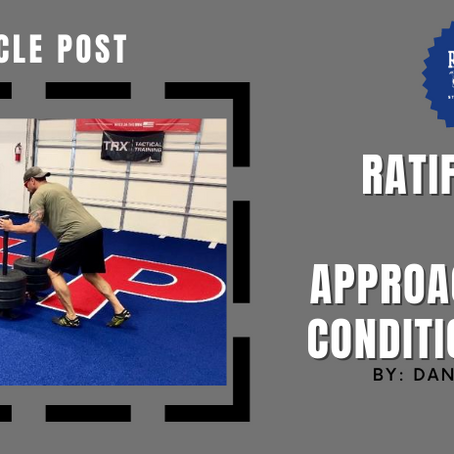 Ratifying Your Approach to Conditioning