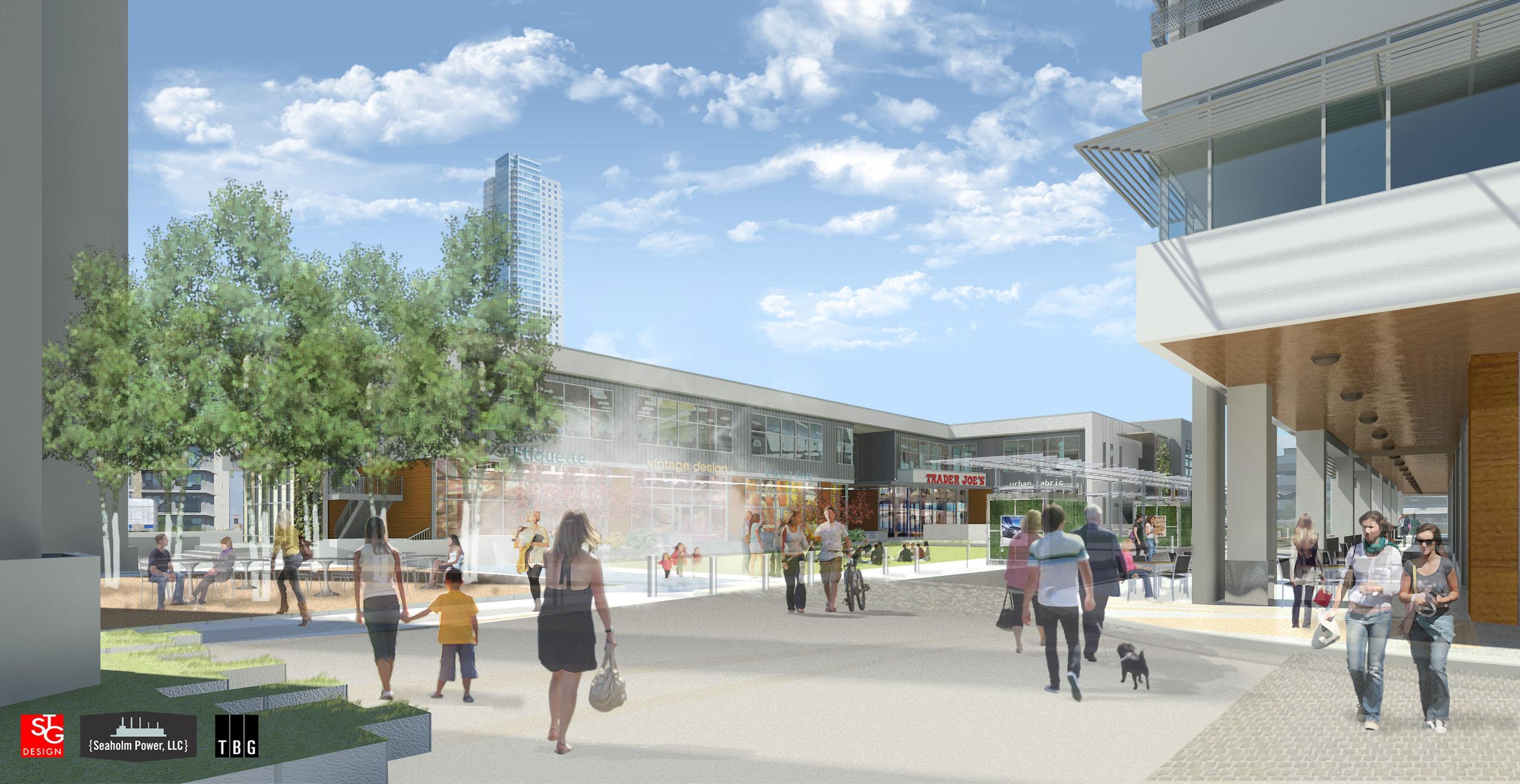 Seaholm Development - Plaza