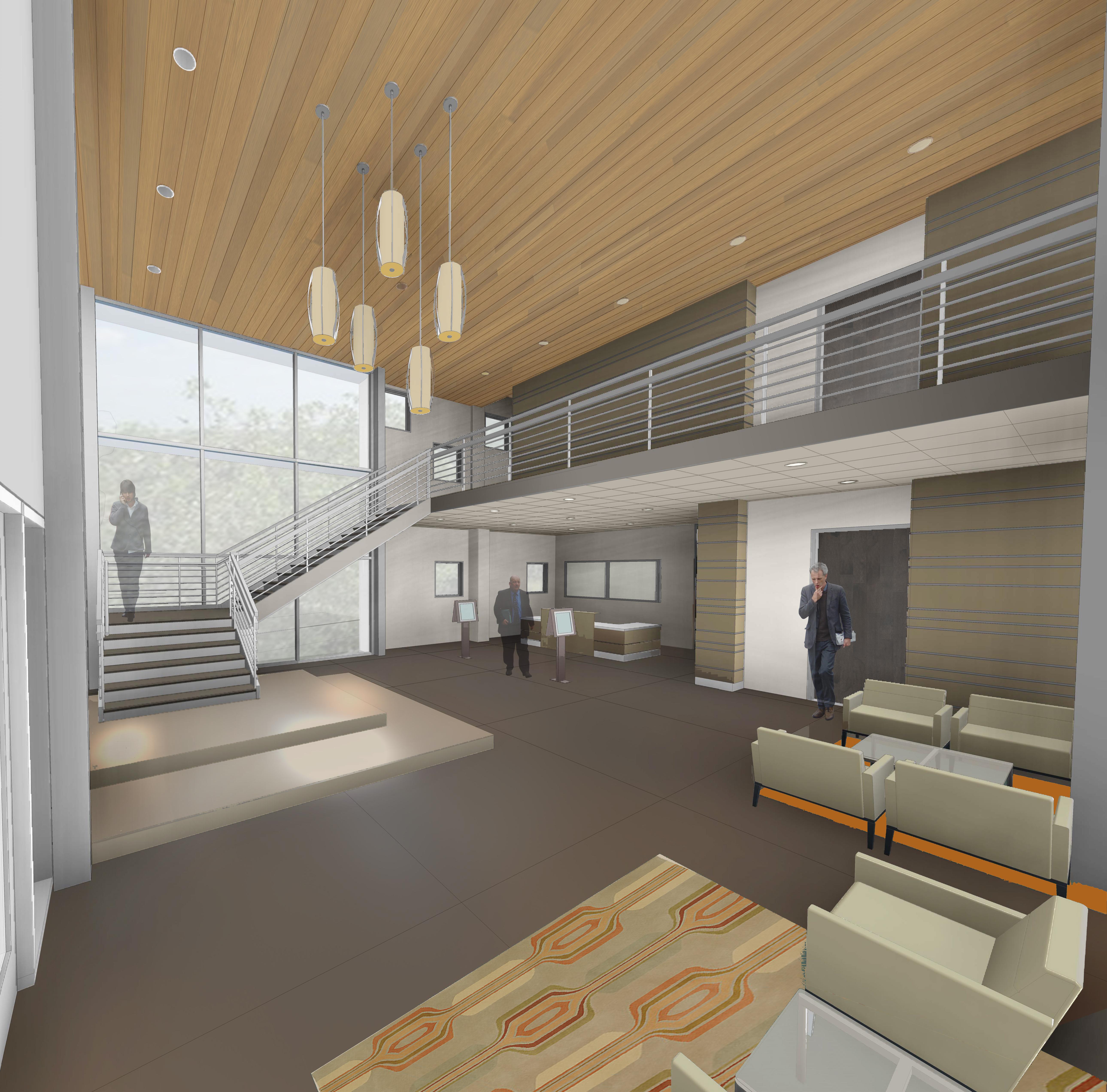 Interior - Welcome Center