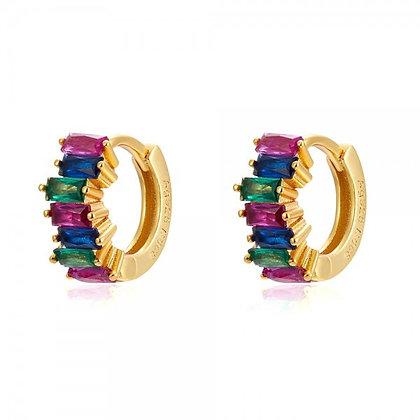 Rainbow Corti Hoops