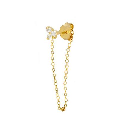 Fleur Chain Earrings