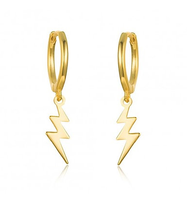 Gold Bintang Hoops