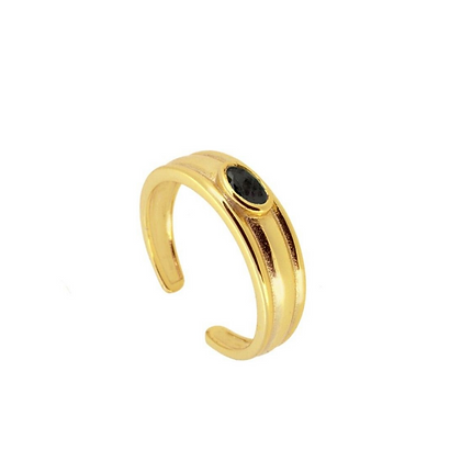 Black Briia Ring