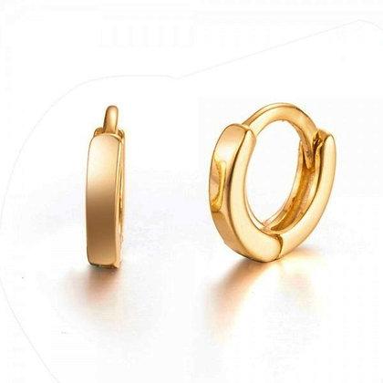 Gold Pinju Hoops