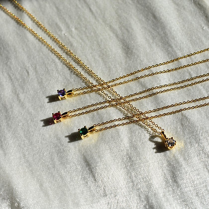 Colour Drop Necklace