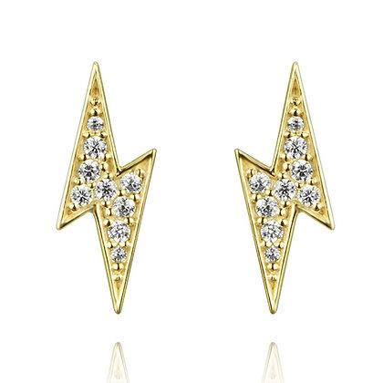White Bintang Earrings