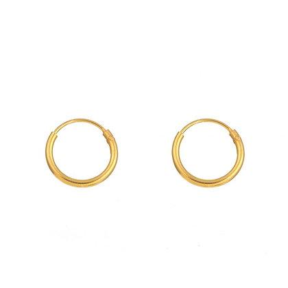Mini Gold Hoops