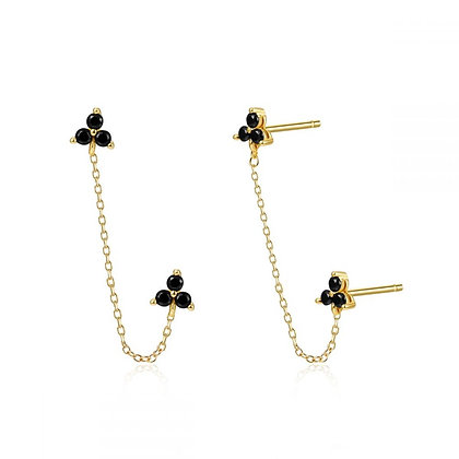 Black Kampong Earrings