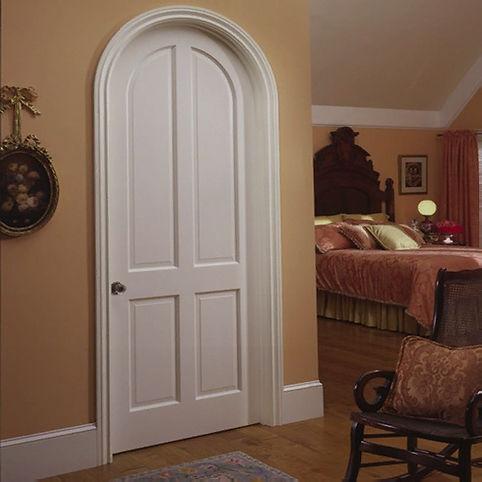 Exterior-Cheap-Bedroom-French-Arch-Door-