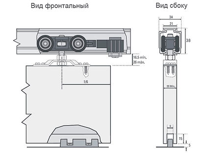 Инструкция по монтажу фурнитуры