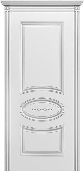 Ария В1 эмаль белая патина серебро