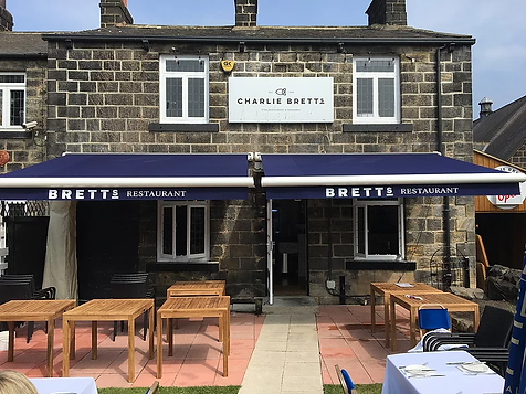 Commercial Restrauant Awning