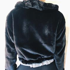 Bomber Faux Fur Jacket R599