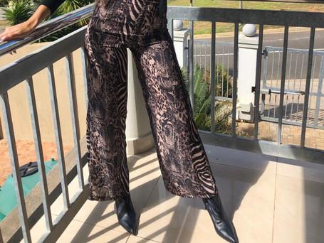 Cheetah/Zebra Pants R599 Limited Edition