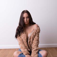 Camel Faux Fur Jacket R499