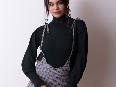 Checked Pay Day Jumpsuit R499