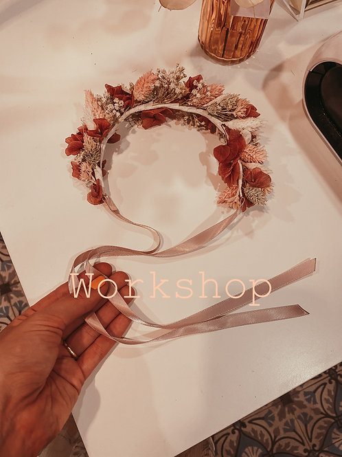 Workshop 28/02/21 ⊹ Bloemenkroon