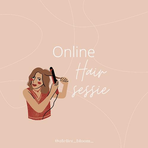Online HAIR sessie